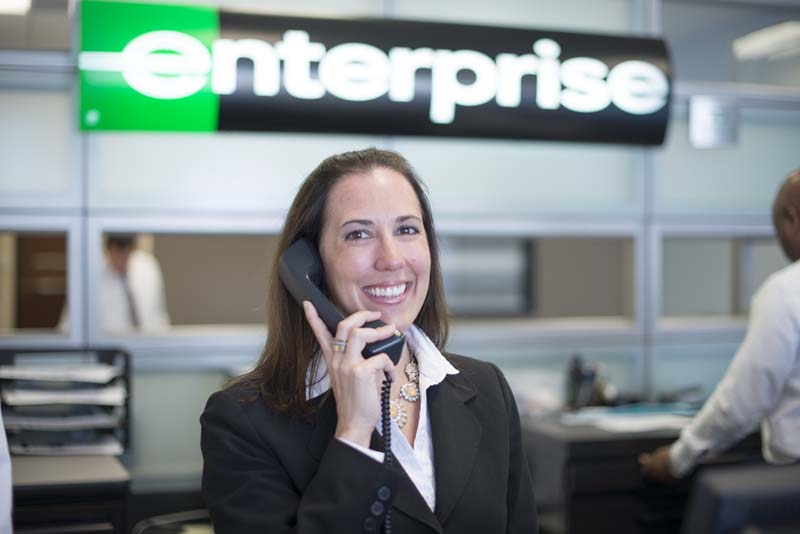 Enterprise Car Rental Ontario International Airport