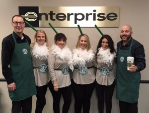 enterprise employees embraced their halloween spirit yet again check out their creative and comical costumes
