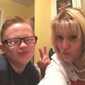 mom and alex