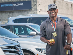 savannah employee climbs world-rankings in shot put